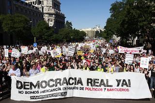 Manifestación 15M-DRY